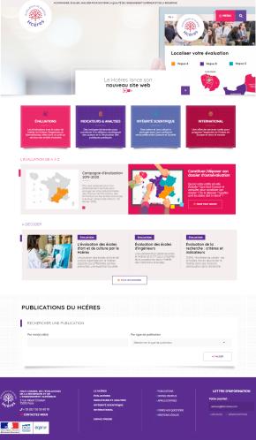 Site web du Hcéres